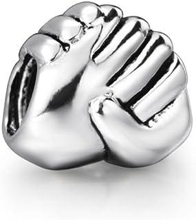You Choose Multi-Selection (2) Silver Pendents Beads Fits EvesErose, Pandora, & Similar Charm Bracelets