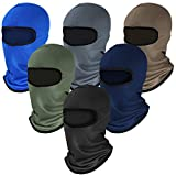 6 Pieces Balaclava Ski Mask Winter Full Face Mask Motorcycle Windproof Mask (Color Set 2)