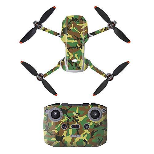 LHY Linghuang PVC Adesivo Decorativo Telecomando Decals Set per DJI Mavic Mini 2 Drone Impermeabile DIY Accessori Protezione AntiGraffio (Tipo 5)