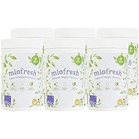Bambino Mio Miofresh - Desinfectante para ropa/pañales, 6 unidades de 750 g