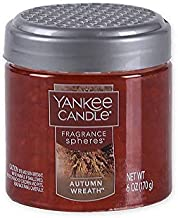 Yankee Candle Autumn Wreath Fragrance Spheres Odor Neutralizing Beads, Food & Spice Scent