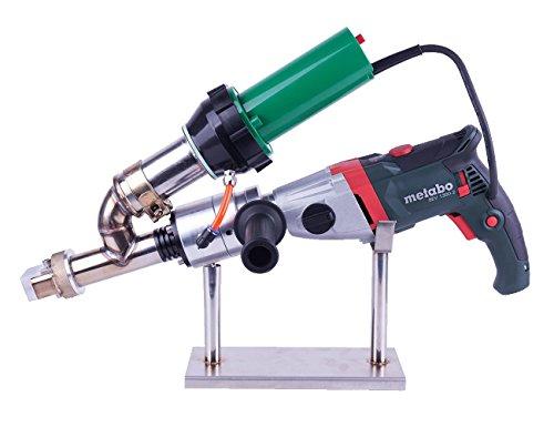 Mini hand extrusion welder gun for welding HDPE PP PVDF sheet (LST610E(Metabo Auger))