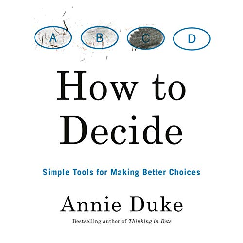 How to Decide cover art