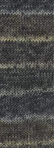 Lana Grossa MEILENWEIT 6-Fach 150g Merino Print 505 - Boots