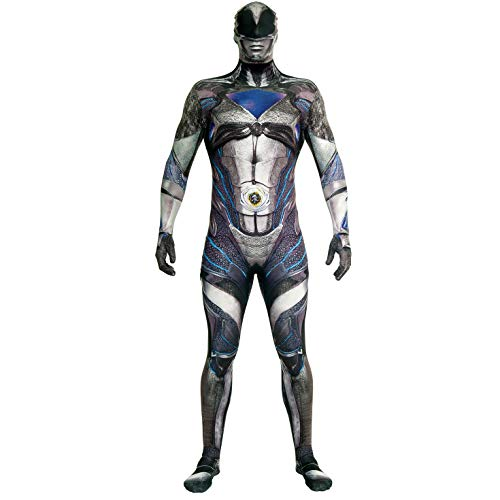Morphsuits Power-Rangers-kostuum Medium Zwart luxe