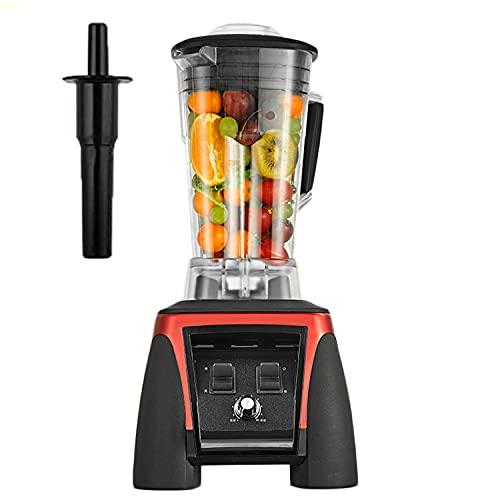L&B-MR Exprimidor Licuadora Eléctrica Profesional Exprimidor Procesador De Alimentos Mezclador 3HP 45000RPM 2200W BPA Libre 2L Tarro para Frutas, Verduras Y Alimentos para Bebés, Receta