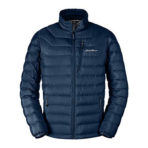 Eddie Bauer Men's Downlight Jacket Med Indigo
