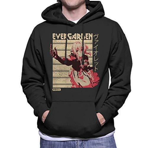 Cloud City 7 Violet Evergarden Men's Hooded Sweatshirt