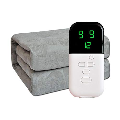 Grote elektrische verwarmingsdeken met 9 optionele spiegels en instelbare timer, verwarmd plafond met Fast-verwarmingstechniek en voor comfort voor het hele lichaam.