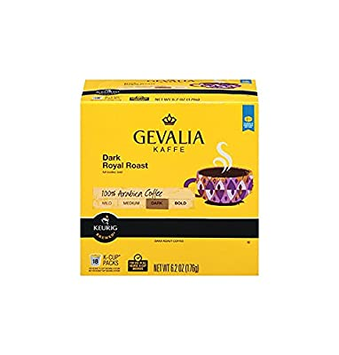 Gevalia Single-Cup Coffee for Keurig K-Cup Brewers by Gevalia