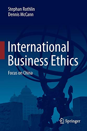 International Business Ethics Focus On China
