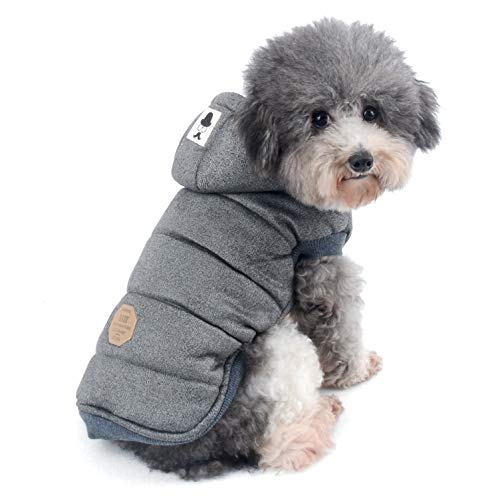 Ranphy - Chaqueta de forro polar para perros pequeños,