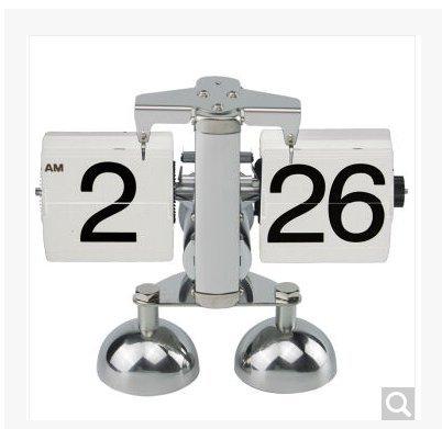 page mode rétro - métal création automatique de l'horloge,cCadeau de cadeau de Noël de vacances d'ami cadeau