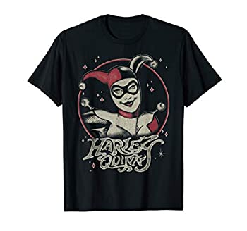 DC Comics Harley Quinn Dark Portrait T-Shirt