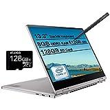 2020 Samsung_Notebook 9 Pro 13 FHD 1080P Touchscreen 2-in-1 Laptop  Intel Core i7-8565U up to 4.6GHz  8GB RAM  512GB SSD  FP Reader  Backlit KB  Win 10 + NexiGo 128GB MicroSD Card Bundle