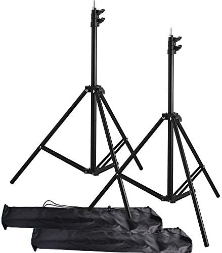 Light Stand Tripod 2Packs Riqiorod 7 Feet Aluminum Alloy Photography Studio Ring Light Stands product image