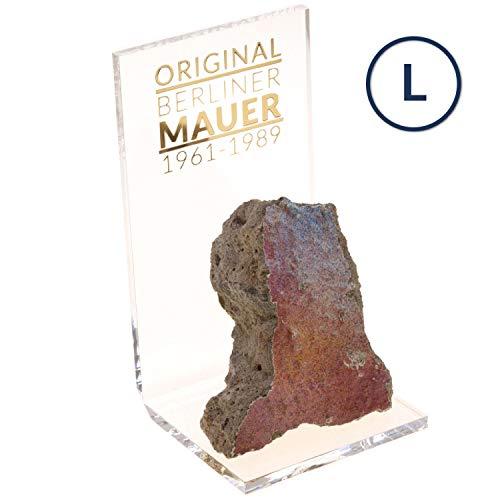 ORIGINAL Berliner Mauer-Stein | authentisches Stück mit Echtheitszertifikat | Handarbeit direkt aus Berliner Manufaktur