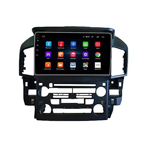 Android 10 Autorradio Navegación del Coche Unidad Principal Estéreo Reproductor Multimedia GPS Radio IPS 2.5D Pantalla táctil porLEXUS RX300 1997-2003