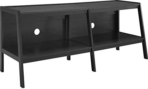 Ameriwood Home Altra Furniture Ladder Entertainment Center TV Stand, 60', Black