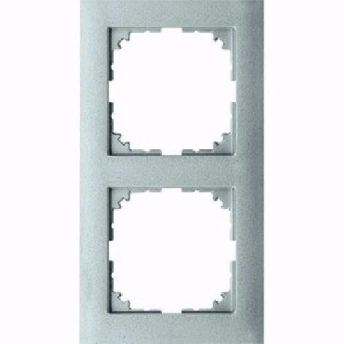 Preisvergleich Produktbild Merten MEG4020-3660 M-Pure-Rahmen,  2fach,  Aluminium