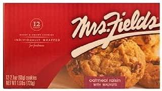 MRS FIELDS OATMEAL RAISIN W/WALNUTS 2.1 oz Each ( 12 in a Pack )