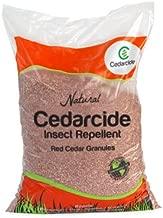 Insect Repelling Cedar Mulch Granules Repels Fleas, Ticks, Ants, Mites, Mosquitoes 8lb Bag