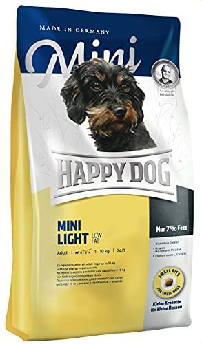 Happy Dog Dry Dog Food Mini Light Low Fat Diet 4 kg