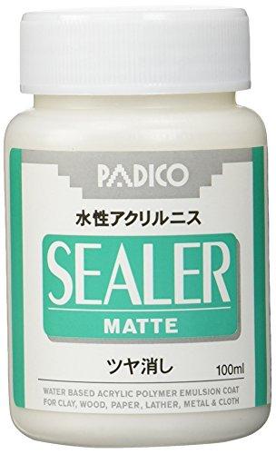PADICO パジコ シーラー 水性アクリルニス ツヤ消し 100ml 3本セット