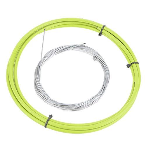 DAUERHAFT Cable de Cambio de Bicicleta de montaña Práctico Cable de Cambio de Ciclismo antioxidante, para Bicicleta de Carretera de montaña(Green)