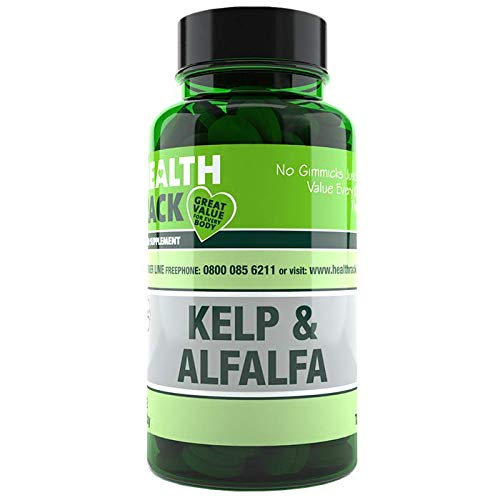 Kelp and Alfalfa Tablets | Weight Loss | Menopause