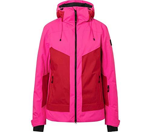 Bogner Fire + Ice Ladies Pika-T Colorblock-Pink-Rot, Damen Jacke, Größe 40 - Farbe Neon Pink