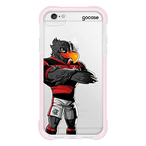 Capa Anti Impacto Pro Rosa iPhone 6/6s - Flamengo Mascote