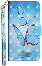 KINGCOM-Wallet Cases - Leather Phone Case For 1 7 Plus 2.1 3.1 5.1 6.1 8.1 2018 X7 X6 X5 2 3 5 6 1.3 4.2 3.2 2.2 7.2 6.2 2.3 Back Cover (Three Butterflies For Nokia 6.1 2018)