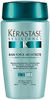 K?rastase Resistance Bain Force Architecte (250ml) (Pack of 6) - ケラスターゼ抵抗ベイン力(250ミリリットル) x6 [並行輸入品]