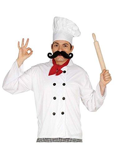 Kit disfraz de cocinero para hombre