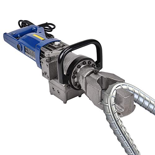 MMNZE Electric Hydraulic Rebar Bender, 110V 900W 16MM Hand Hold Portable Rebar Bender, Bending Machine for Bending Rebar, Steel Bar, Steel Rod