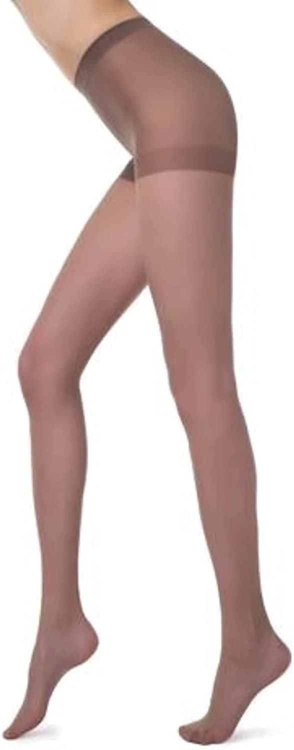 Conte Classic Women's Pantyhose Sheer Mate Tights With Reinforced Top & Toes - Solo 15 Den (17С-89СП) Shade 2 (S)
