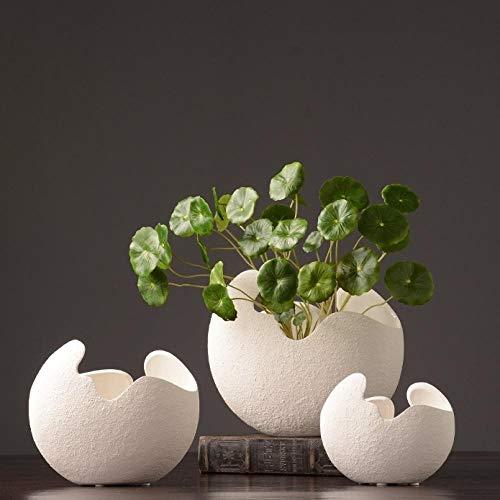 shunzianson Moderne creatieve keramische kunst vaas decoratie porselein bloempot thuis accessoires geschenken ambachten meubels