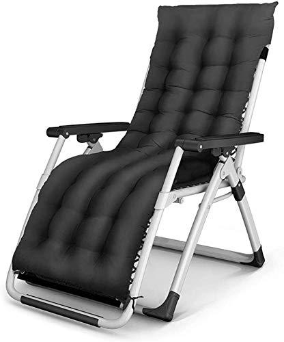 OESFL Silla Silla de Gravedad Cero reclinable Plegable Silla de salón de Inicio de la Siesta Transpirable Ajuste Conveniente Plegable Fácil
