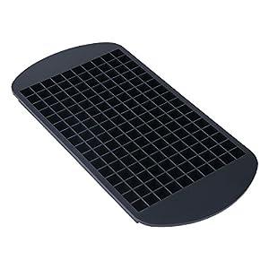 Belmalia Forma de cubo silicona, cubitos de hielo forma para 160cubitos de hielo Negro