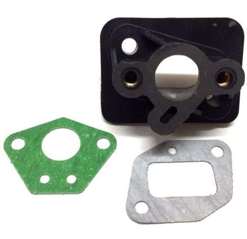 Review Of BMotorParts Carburetor Insulator Isolator Block Southland SCV43 Tiller Cultivator A200839