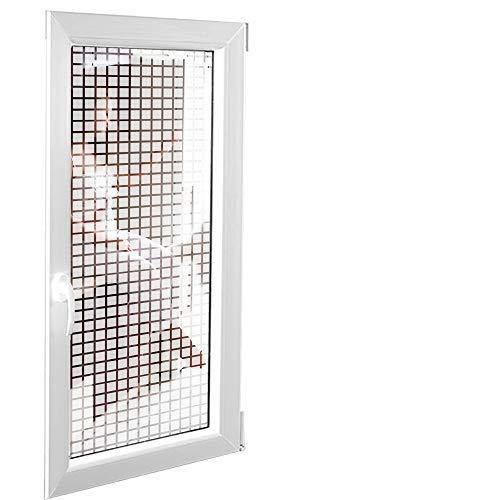 Solar Screen 5,91€/m² Milchglasfolie Designfolie Sichtschutzfolie Claustra 152cm Breite Laufmeterware Fensterfolie Selbstklebend Folie Dekofolie Quadrat Rechteck Milchglas