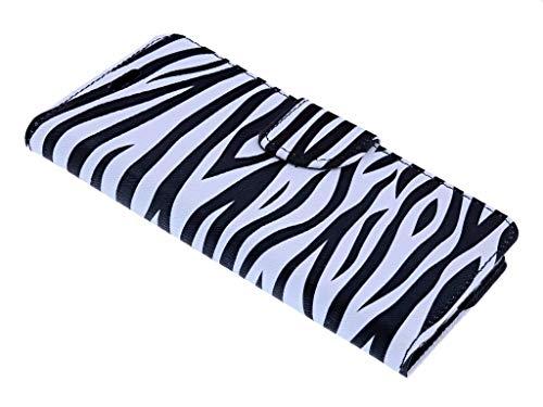 Zebra Design BookType/Portemonnee TPU Hoesje Samsung Galaxy S7
