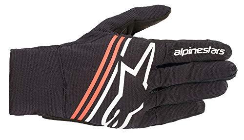 Alpinestars Reef Motorrad Handschuhe Schwarz/Weiß/Rot XL
