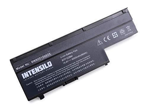 INTENSILO Akku für Medion Akoya E6210, E6211, E6212, P6611, P6612, P6613, P6618, P6619, P6620 Notebook Laptop wie BTP-D2BM - (Li-Ion, 6000mAh, 14.4V)