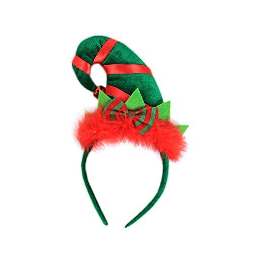 Cosanter Kinder Haarbänder Weihnachten Party Hutform Kopfschmuck Geeignet für Mädchen und Junge, Kein Ohr-Form Zubehör
