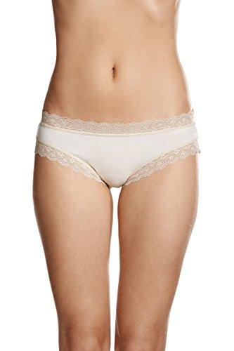 JOCKEY Women's Underwear Parisienne Vintage Modal Bikini Brief, Crisp, 14