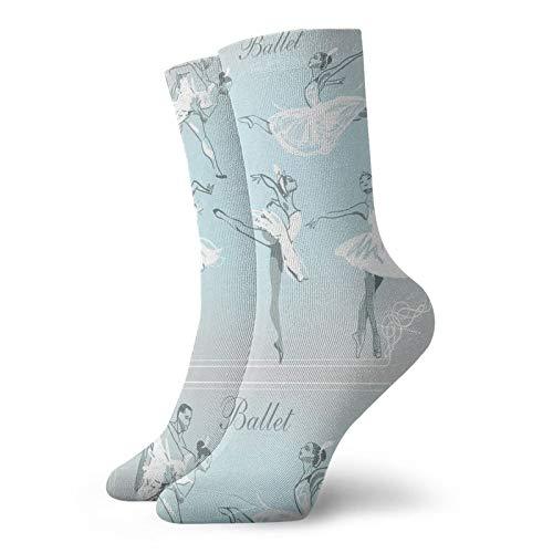 LLeaf Calcetines deportivos Calcetines deportivos transpirables cómodos de bailarina esbozada Calcetines...