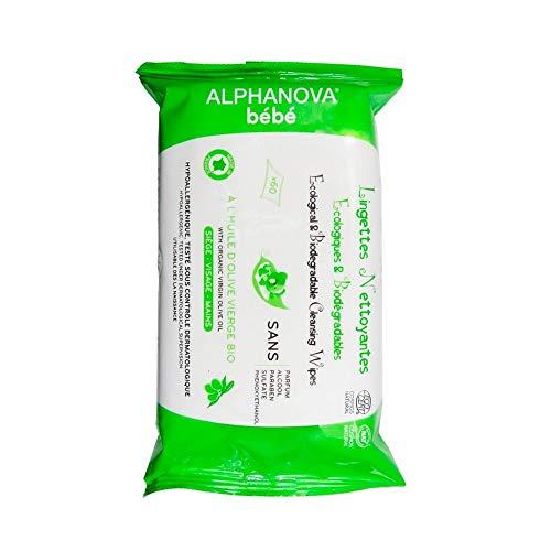 Salviette Umidificate Biodegradabili. Salviettine organiche in fibra vegetale ecosostenibile e vegani. Disinfettanti, Rinfrescanti, Struccanti a casa, in campeggio, in viaggio extra morbido