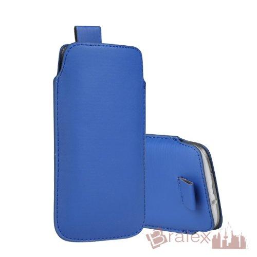 BRALEXX Universal Smartphone Socke passend für HTC Desire 620G Dual SIM, Blau